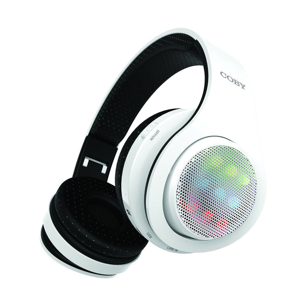 Light Up Bluetooth Headphones Coby