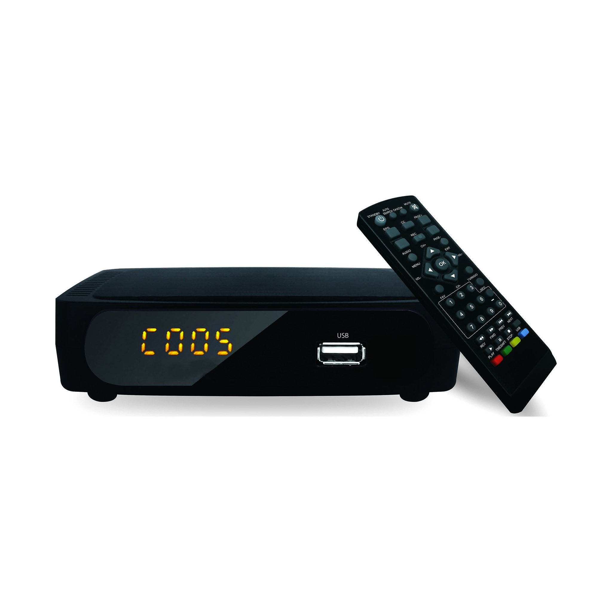 TV DIGITAL CONVERTER WITH REMOTE