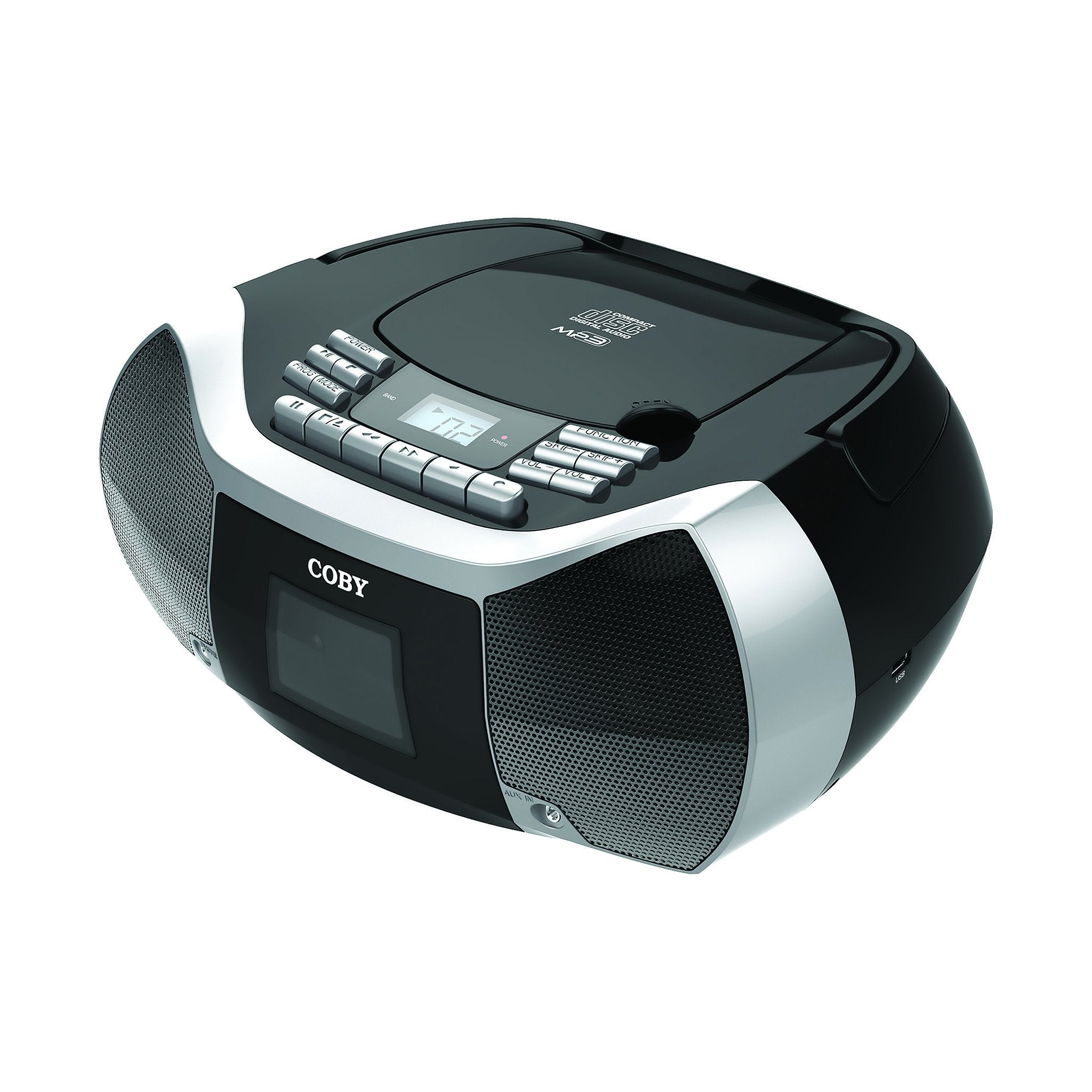 CD Cassette Radio Player/ Recorder with MP3/USB
