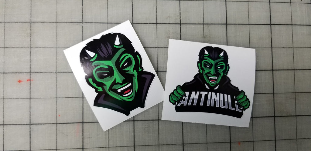 Antinull Mascot Stickers