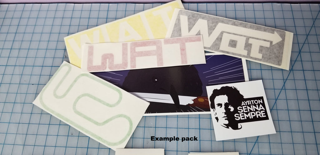Mystery Pack (exclusive Mini Sticker)