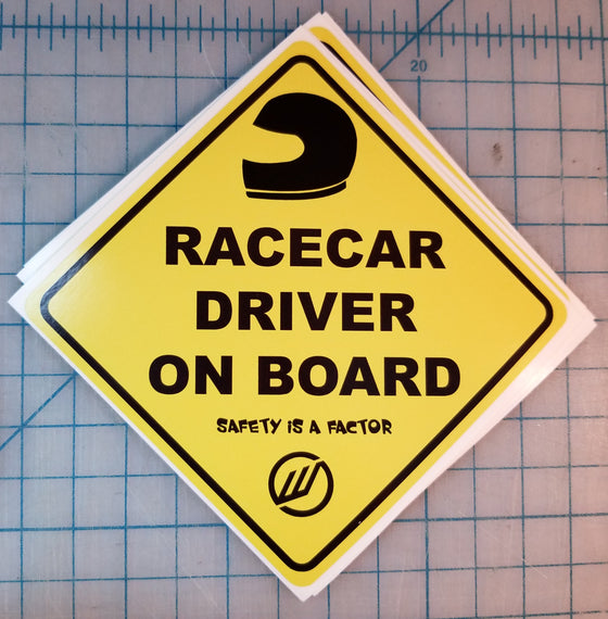 Racecar Driver On Board