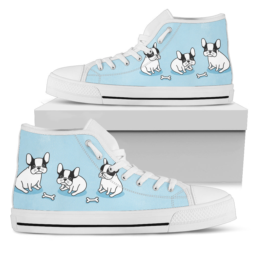 Nice baby bulldog Women's High Top - JaZazzy