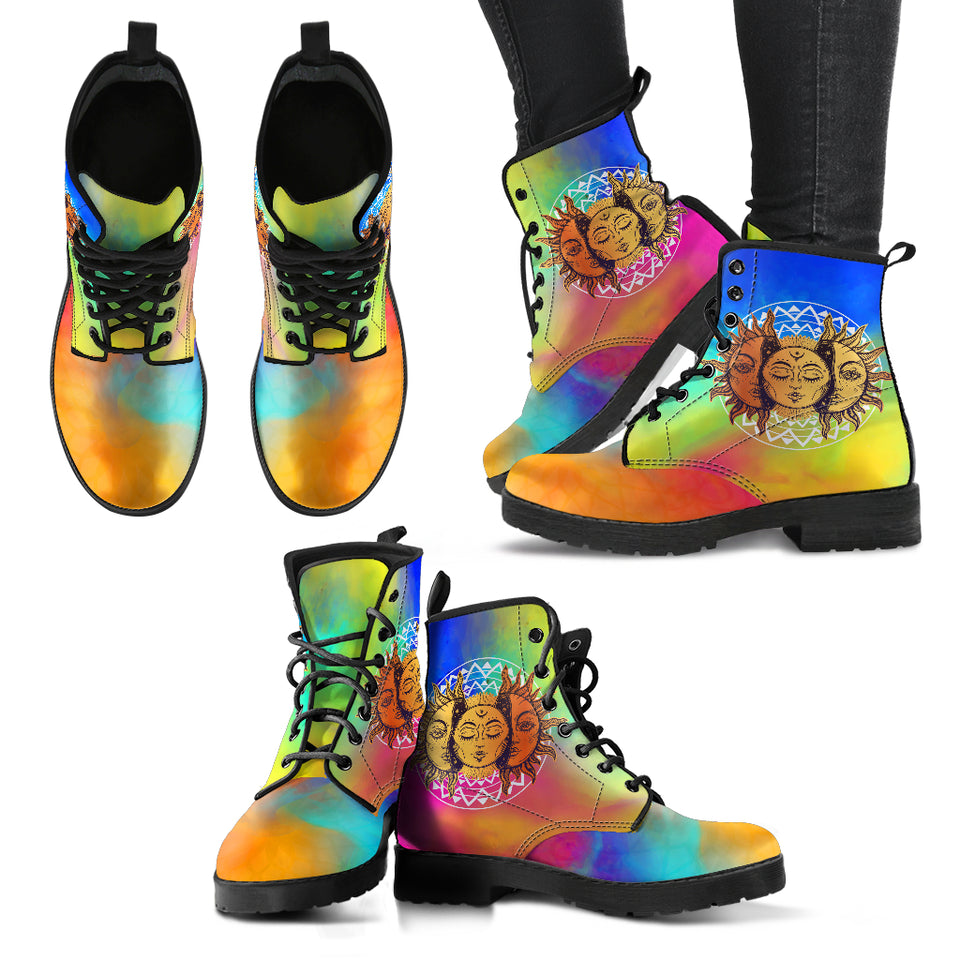 Sun & Moon Handcrafted Boots V5 - JaZazzy