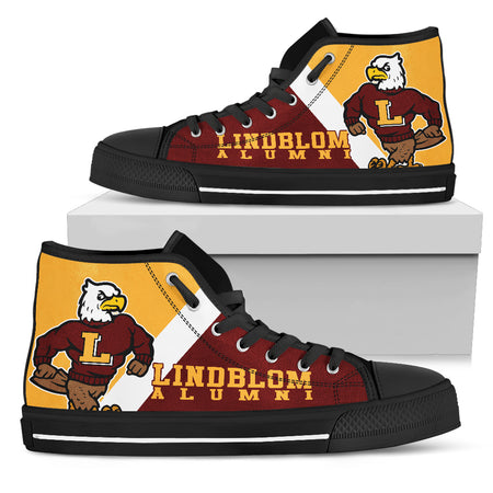 Lindblom Eagles High-TopVG4_Women - JaZazzy