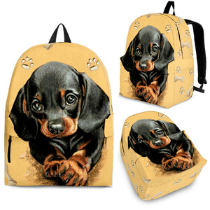 DACHSHUND BACKPACK - JaZazzy