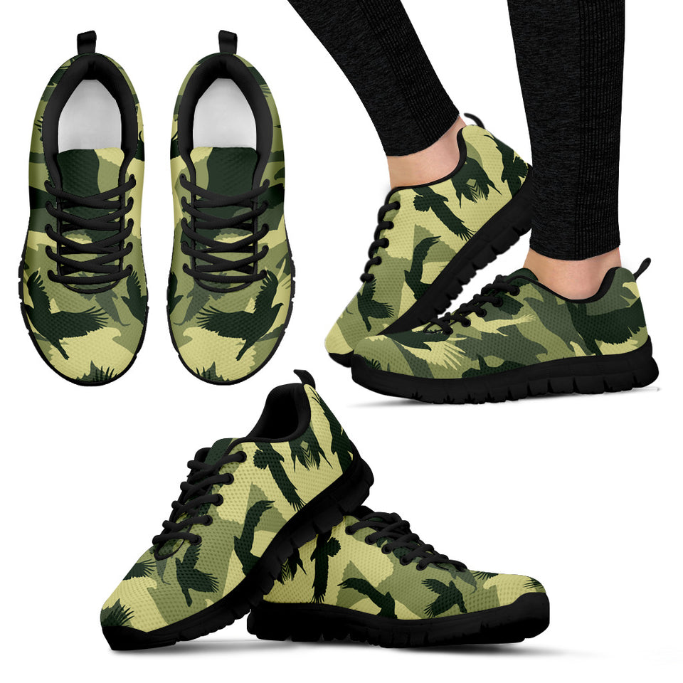 Eagle Hawk Camo Sneaker 04 Men And Women Jazazzy