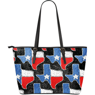 Texas Large Leather Tote Bag