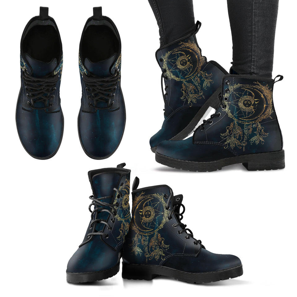 Sun & Moon Handcrafted Boots Limited Edition 2.0 - JaZazzy