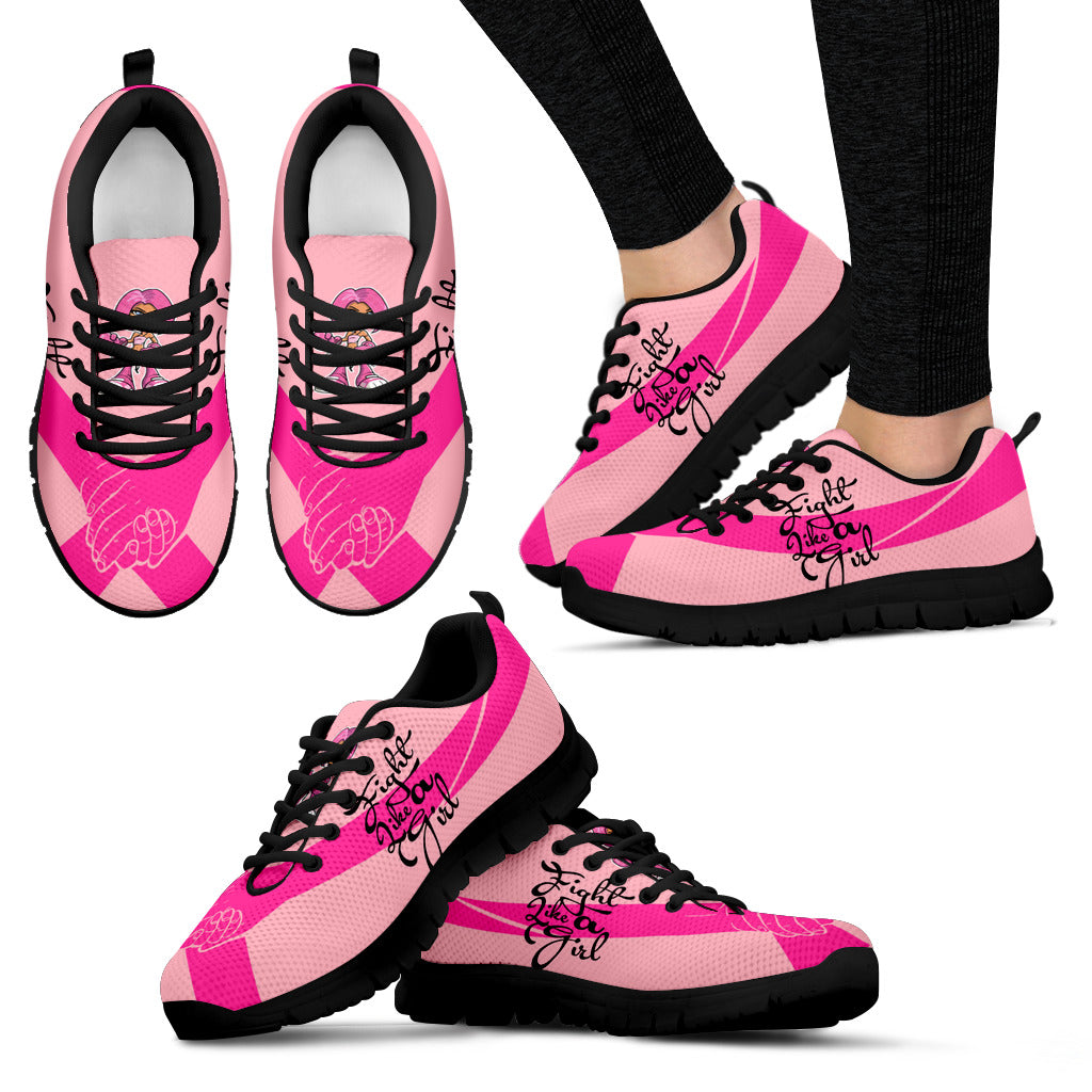 JZP Fight Like A Girl - Cancer Support Sneaker - JaZazzy