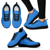 SpiritSneaker S Sky Blue_Black and White Sole - JaZazzy