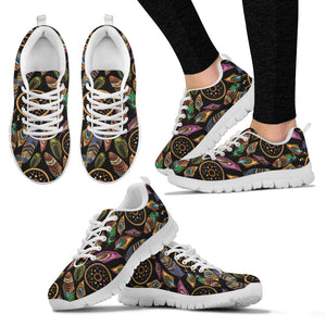 Boho Tribal Dream Catcher Feathers Sneakers.