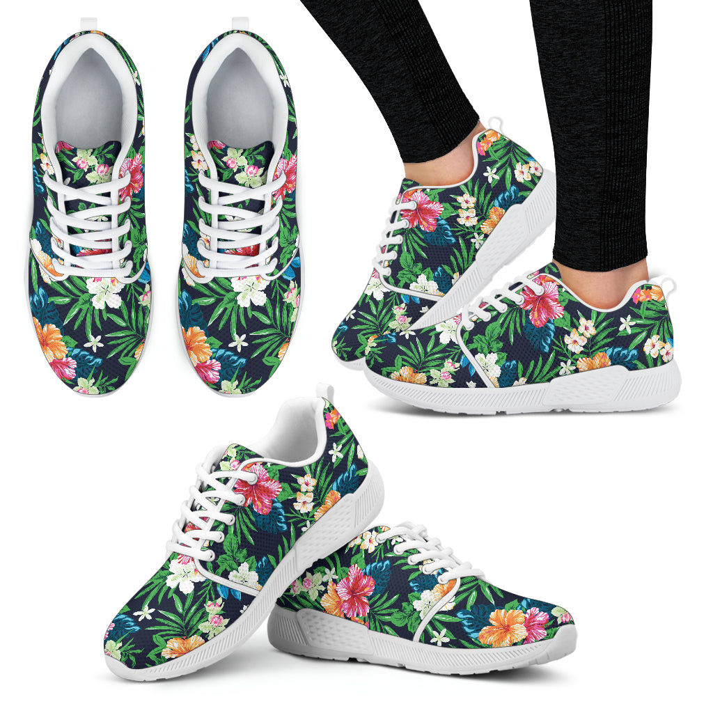 Flower Power Women's Athletic Sneakers - JaZazzy
