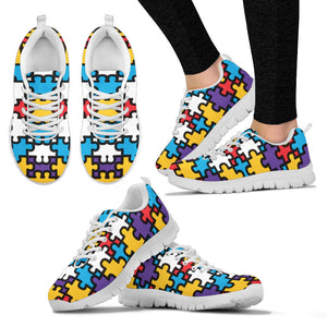 Autism Pattern 4 Sneakers. - JaZazzy