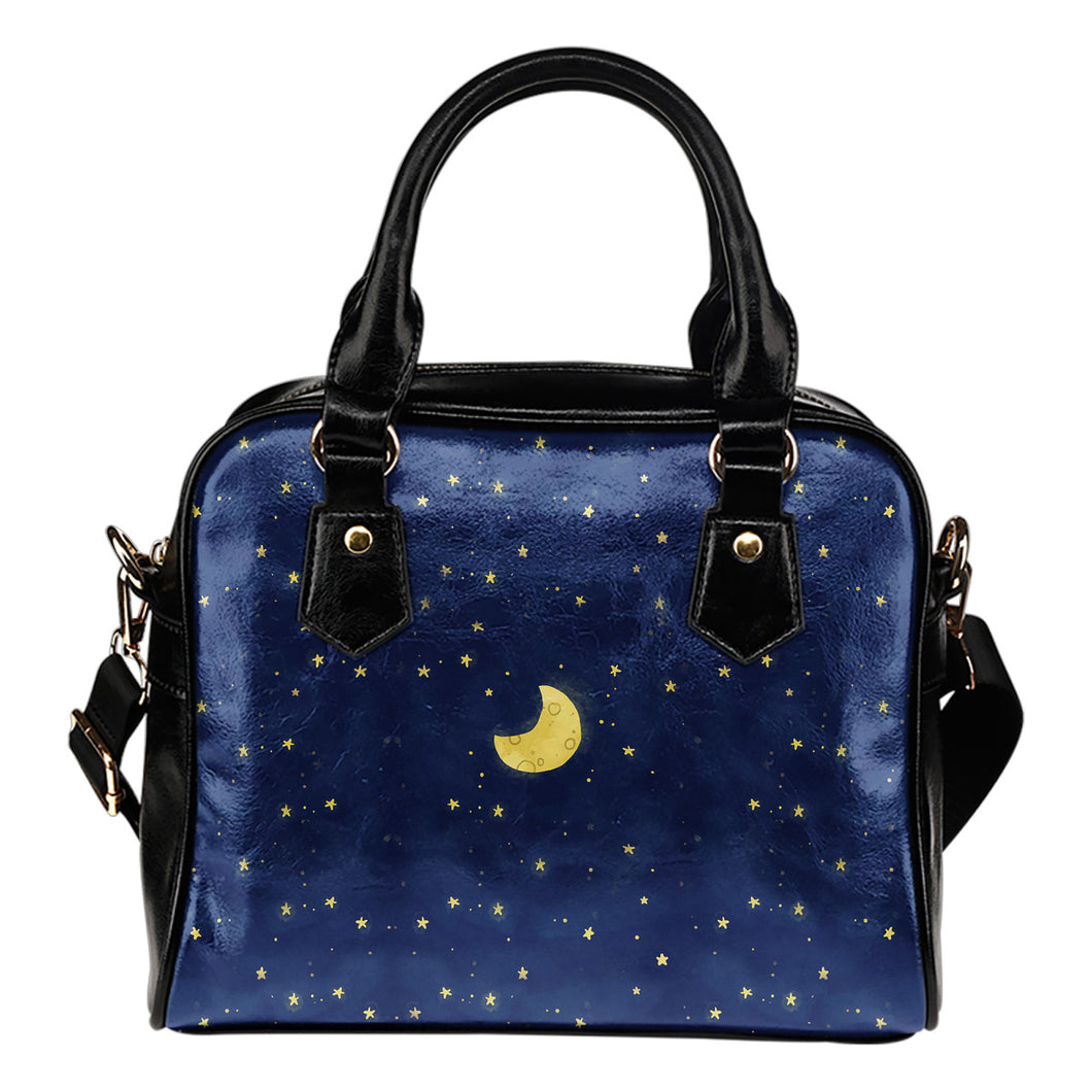 Moon and Stars Shoulder Bag - JaZazzy