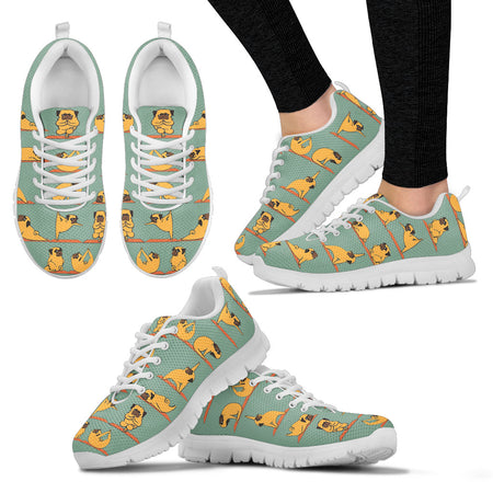 BULLDOG YOGA Women's Sneakers - JaZazzy