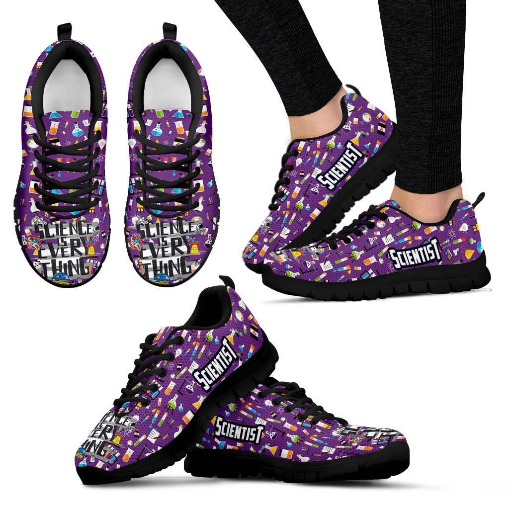 Science Women's Sneakers - JaZazzy