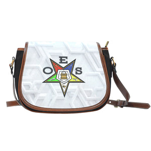 OES Saddle Bag_Assorted Logo Leather Print v2