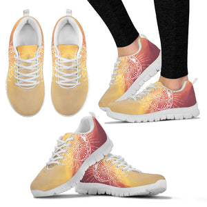 Womens Aztec Sun and Moon Sneakers. - JaZazzy