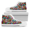 Sugar Skull Handcrafted High Tops - JaZazzy
