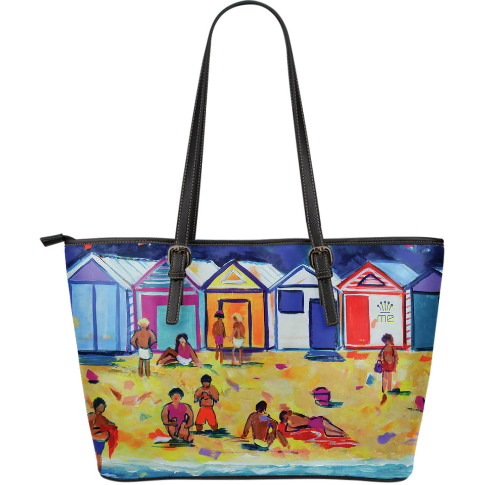 Beach Large Tote Bag - JaZazzy