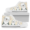 OLD ENGLISH SHEEPDOG HIGH TOP MEN - JaZazzy