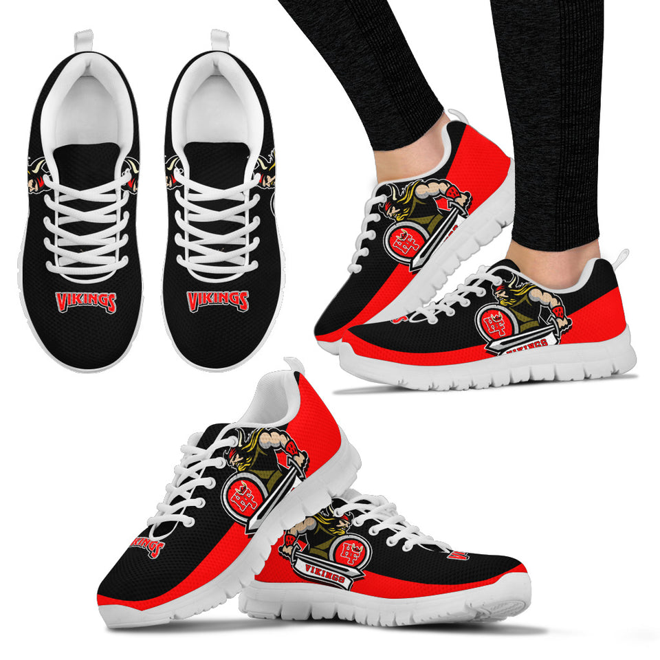 JZP Homewood Flossmoor Sneaker Blk-Red V4F Mens and Womens - JaZazzy