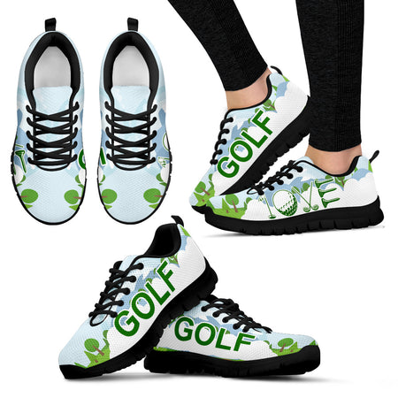 GOLF LOVE Women's Sneakers - JaZazzy