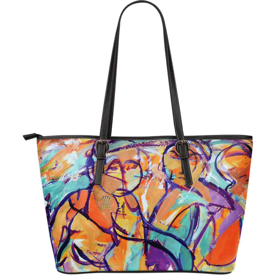 Painted girls Large Tote Bag - JaZazzy