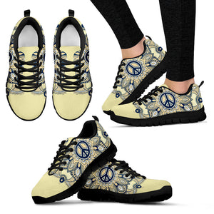 Womens Peace and Henna Sneakers - JaZazzy