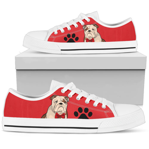 Bulldog Women's Low Top Shoe - JaZazzy