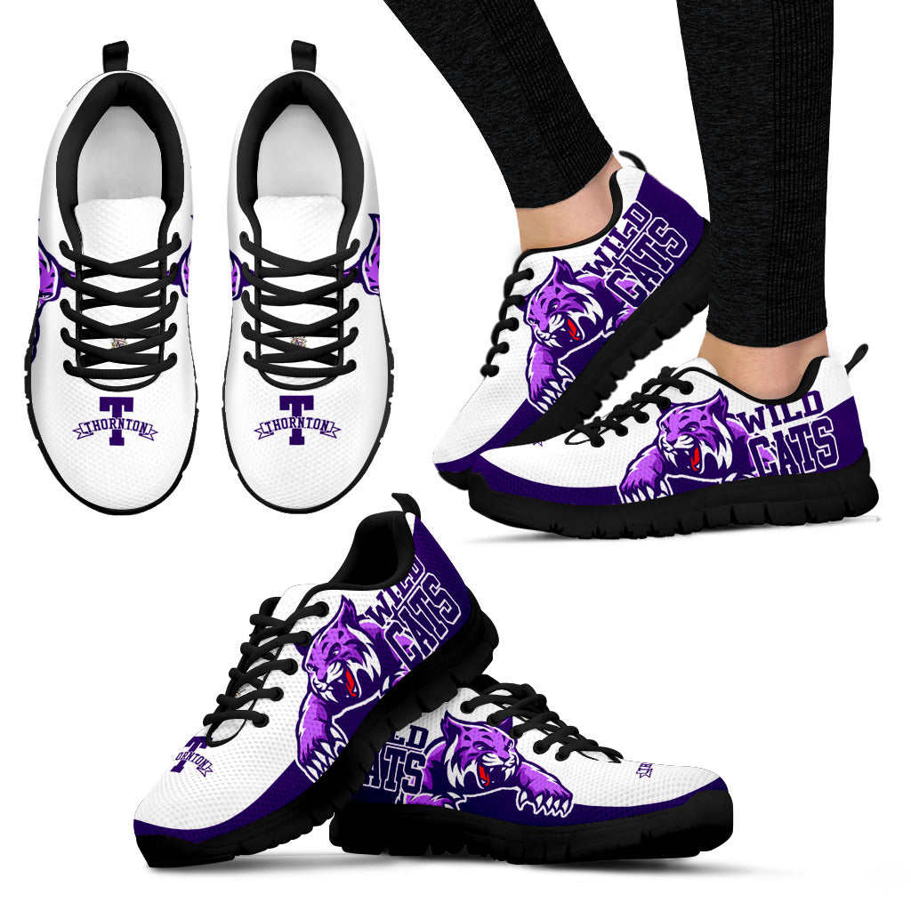 JZP Thornton Wildcats_IL  003C Mens and Womens Sneakers - JaZazzy