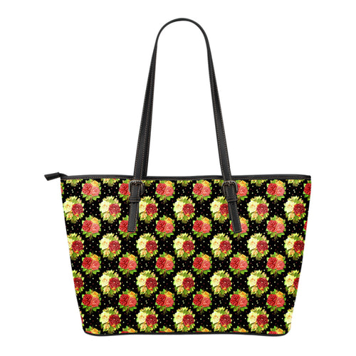 Vintage Roses Eco-Leather Tote - JaZazzy