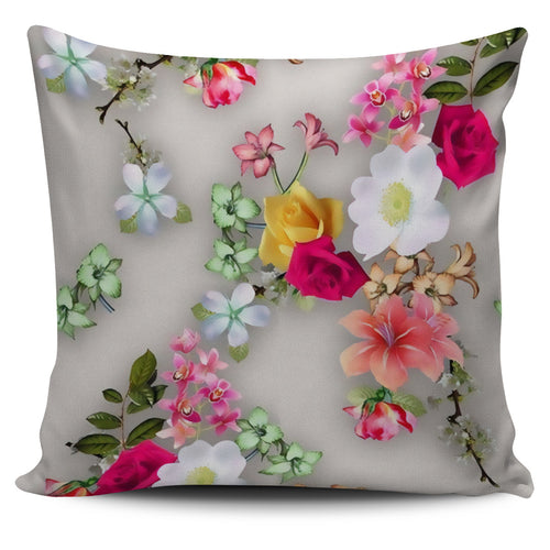 3d Flowers Cushion Cover