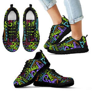 Custom-Made Holy Bible Books Kid's Sneakers Dark Grey - JaZazzy