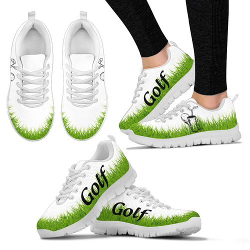 GOLF GREEN Women's Sneakers - JaZazzy