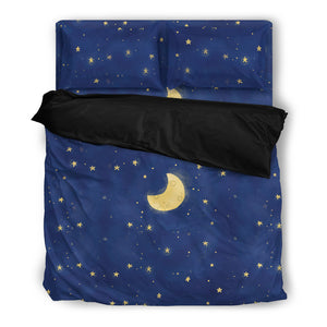Moon and Stars Bedding Set - JaZazzy