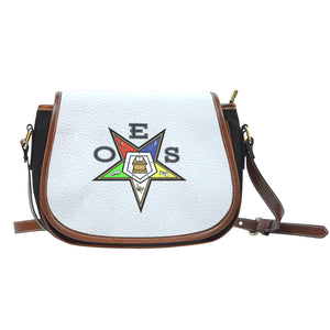 OES Saddle Bag_White Logo Print