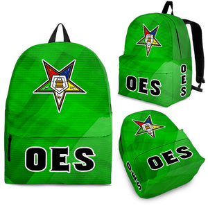 OES  BACKPACK Gold SQ 7 Assorted Colors - JaZazzy
