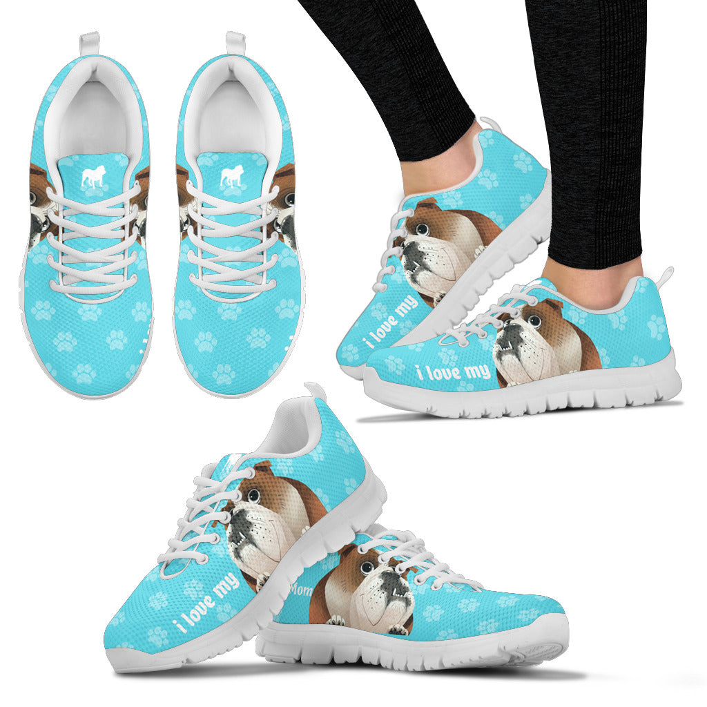 Bulldog Women's Sneakers - JaZazzy