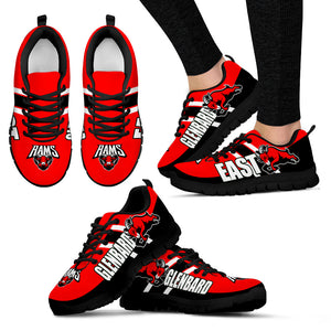 JZP Glenbard East H S Sneaker Ram V1A Men and Women - JaZazzy