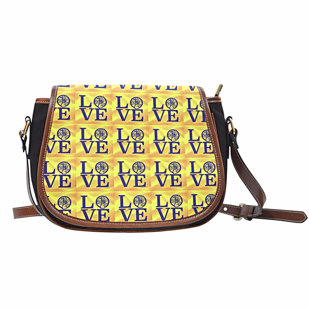 CVS Cavalier Love Saddle Bag - JaZazzy
