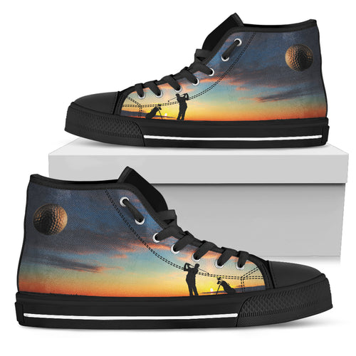 Tee Off at Sunset High Top MB - 1B - JaZazzy