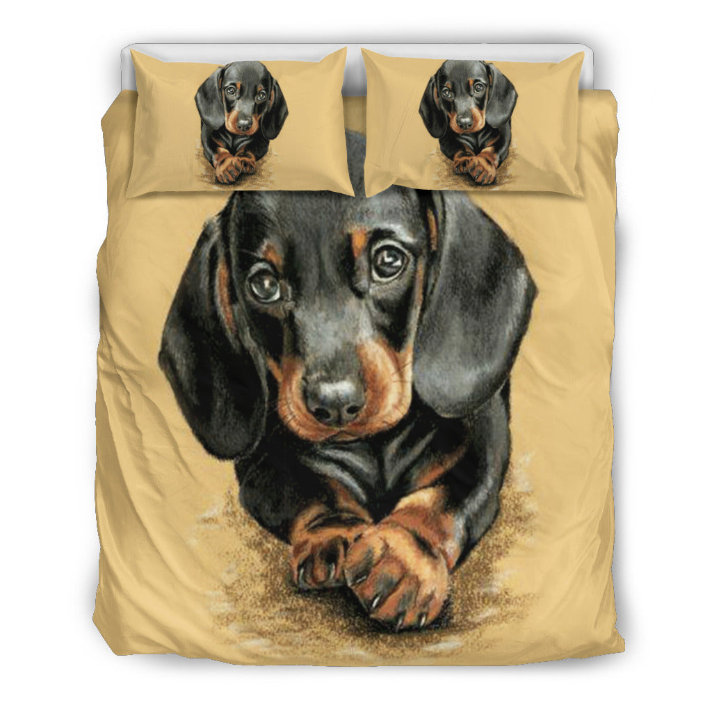 DACHSHUND BEDDING SET - JaZazzy