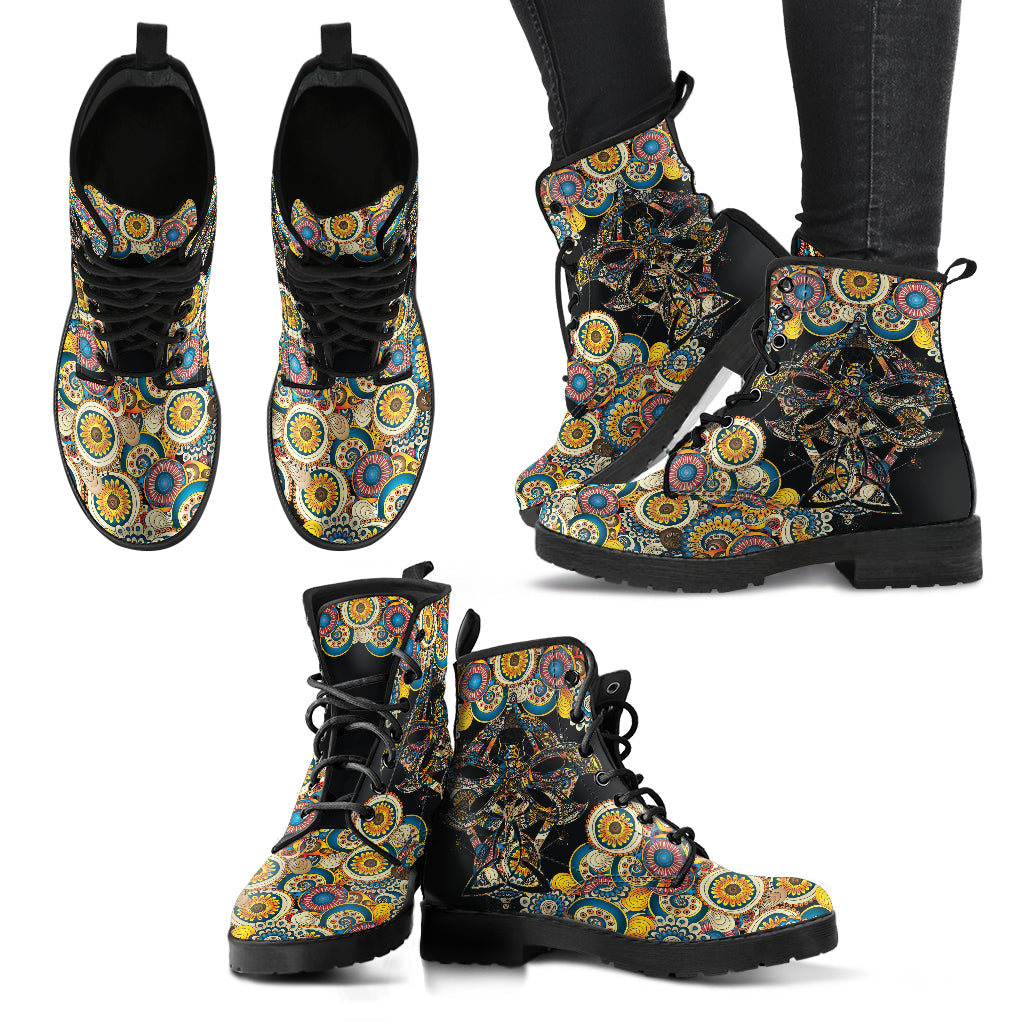 Dragonfly 6 Handcrafted Boots - JaZazzy