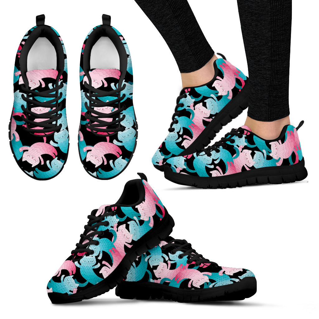 Pink dog Women's Sneakers - JaZazzy