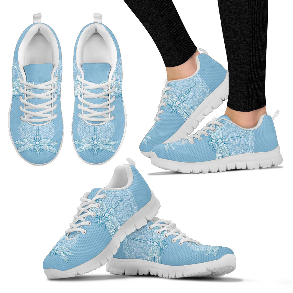 Carolina Blue Dragonfly Sneakers - JaZazzy