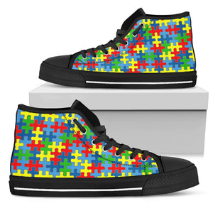 Colored puzzles black soles - JaZazzy