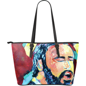 Singing man Large Tote Bag - JaZazzy