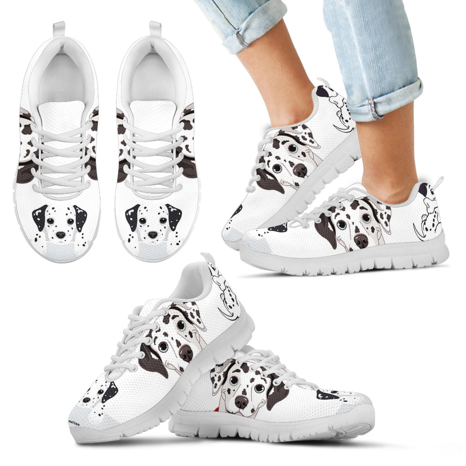 Dog Sneakers White Kid's Sneakers - JaZazzy